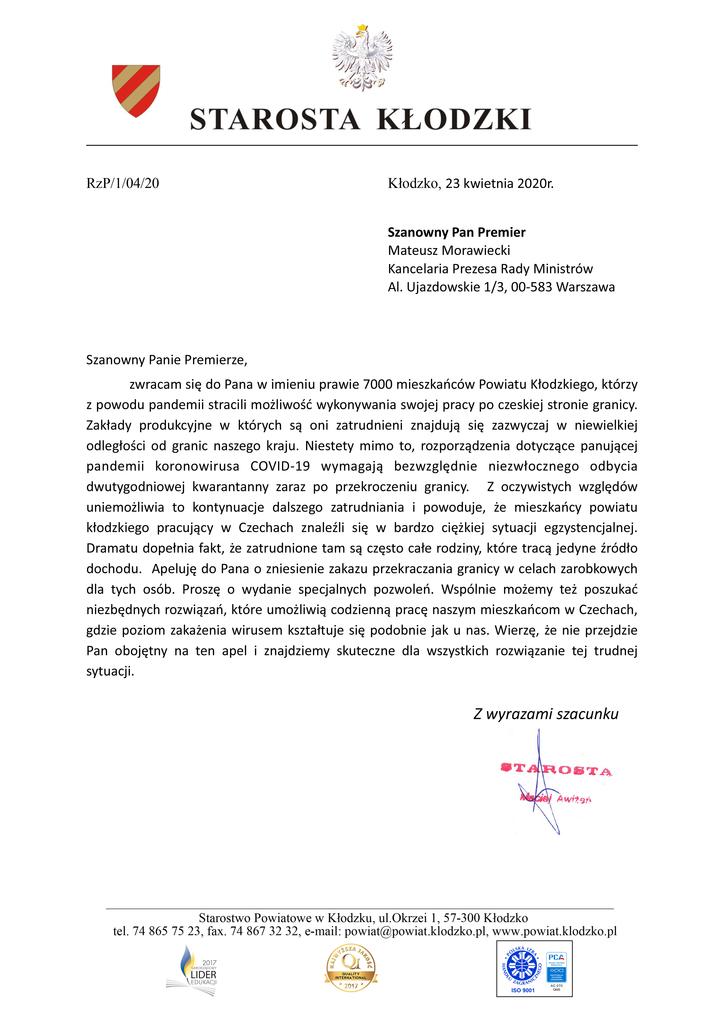 STAROSTA KŁODZKI - Apel_do_Premiera_RP.jpeg
