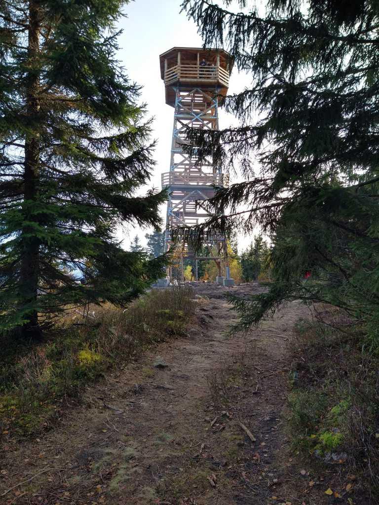 Wieża widokowa na Czerńcu