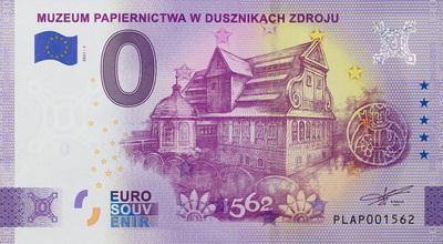 Pamiątkowy banknot 0 euro