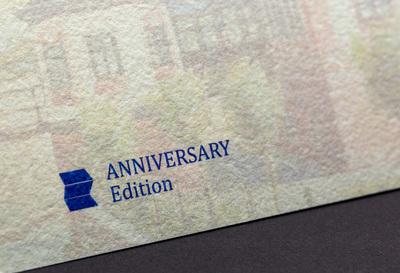 Fragment oznaczenia banknotu